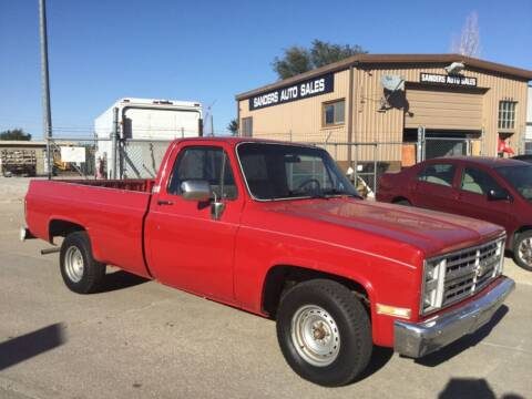 1985 Chevrolet C/K 10 Series for sale at Sanders Auto Sales in Lincoln NE