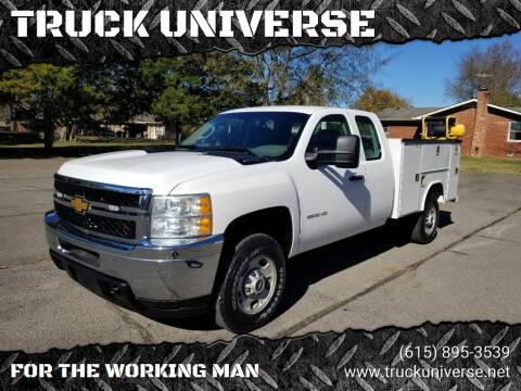 2013 Chevrolet Silverado 2500HD for sale at TRUCK UNIVERSE in Murfreesboro TN