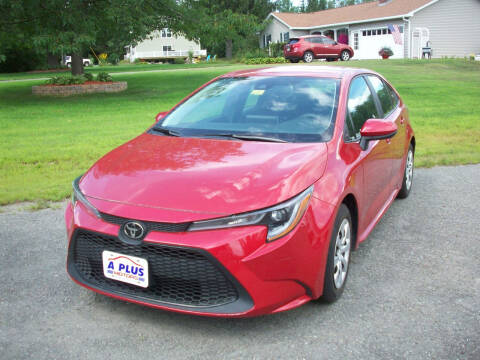 2020 Toyota Corolla for sale at A-Plus Motors in Alton ME