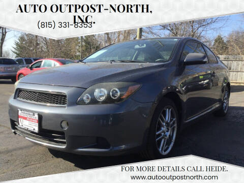 2008 Scion tC for sale at Auto Outpost-North, Inc. in McHenry IL
