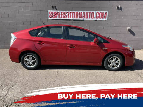 2011 Toyota Prius for sale at Superstition Auto in Mesa AZ