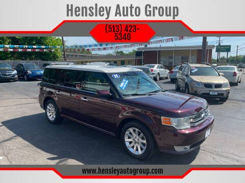 2011 Ford Flex for sale at Hensley Auto Group in Middletown OH