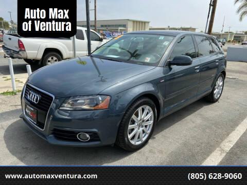 2013 Audi A3 for sale at Auto Max of Ventura in Ventura CA