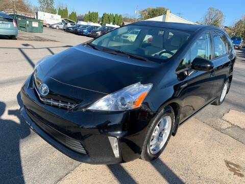 2012 Toyota Prius v for sale at Sam's Auto in Akron PA