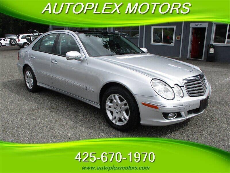 2007 Mercedes-Benz E-Class for sale at Autoplex Motors in Lynnwood WA