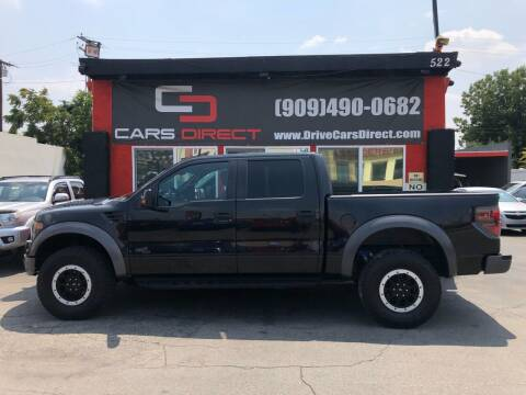 2014 Ford F-150 for sale at Cars Direct in Ontario CA