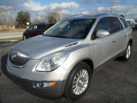 2012 Buick Enclave for sale at CARSON MOTORS in Cloverdale IN
