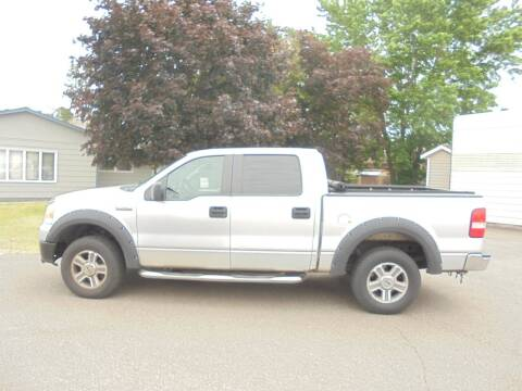 2008 Ford F-150 for sale at Engels Autos Inc in Ramsey MN