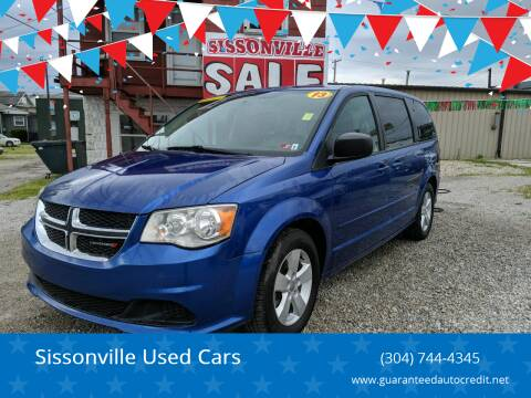 2013 Dodge Grand Caravan for sale at Sissonville Used Cars in Charleston WV