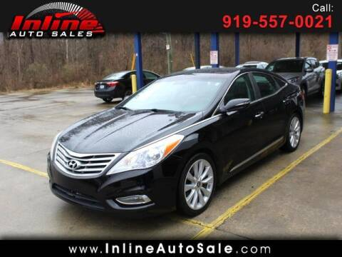2013 Hyundai Azera for sale at Inline Auto Sales in Fuquay Varina NC
