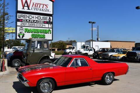 1969 Chevrolet El Camino for sale at WHITT'S AUTO SALES, LLC in Houston TX
