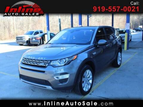 2016 Land Rover Discovery Sport for sale at Inline Auto Sales in Fuquay Varina NC