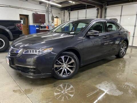 2016 Acura TLX for sale at Sonias Auto Sales in Worcester MA