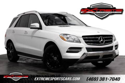 2013 Mercedes-Benz M-Class for sale at EXTREME SPORTCARS INC in Carrollton TX