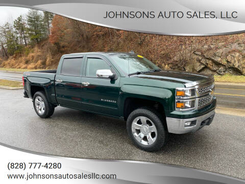 2015 Chevrolet Silverado 1500 for sale at Johnsons Auto Sales, LLC in Marshall NC
