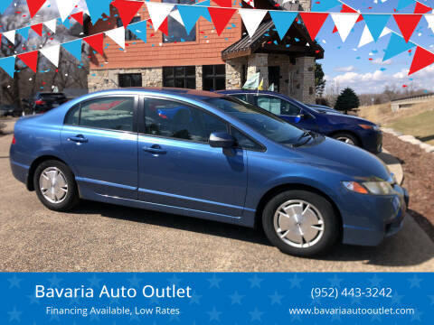 2009 Honda Civic for sale at Bavaria Auto Outlet in Victoria MN