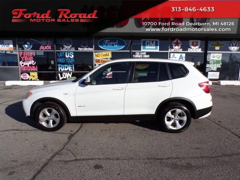 2012 BMW X3 for sale at Ford Road Motor Sales in Dearborn MI