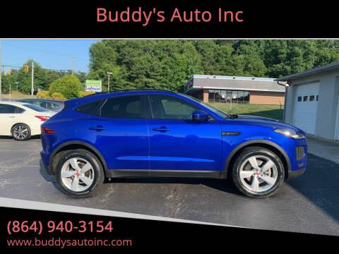 2018 Jaguar E-PACE for sale at Buddy's Auto Inc in Pendleton, SC
