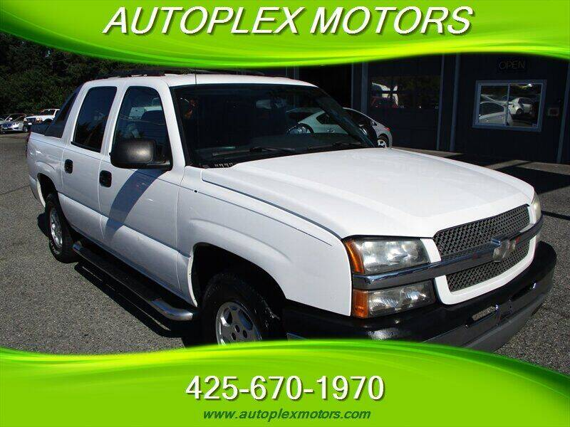 2004 Chevrolet Avalanche for sale at Autoplex Motors in Lynnwood WA