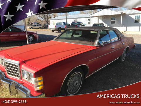 1978 Ford LTD for sale at Americas Trucks in Jones OK