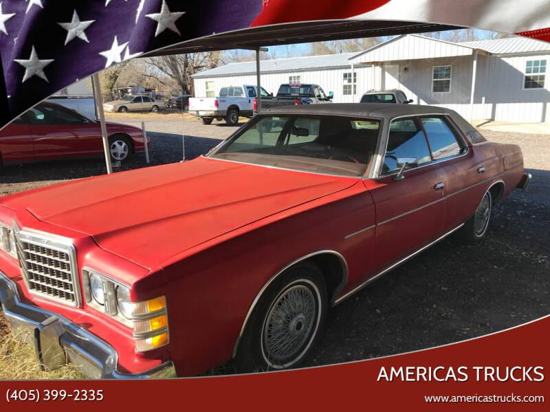 1978 Ford LTD for sale at Americas Trucks in Jones OK