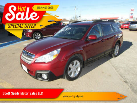 2013 Subaru Outback for sale at Scott Spady Motor Sales LLC in Hastings NE