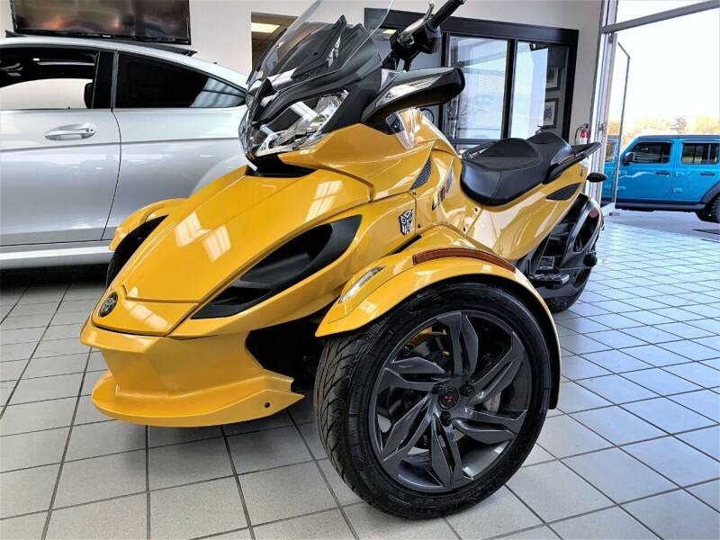 2013 Can-Am CAN AM ST-S for sale at SAINT CHARLES MOTORCARS in Saint Charles IL