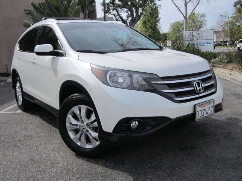 2014 Honda CR-V for sale at ORANGE COUNTY AUTO WHOLESALE in Irvine CA