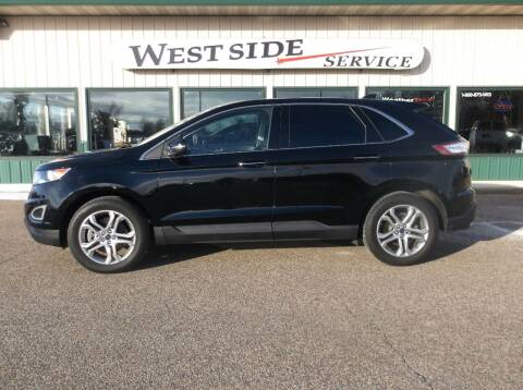 2018 Ford Edge for sale at West Side Service in Auburndale WI