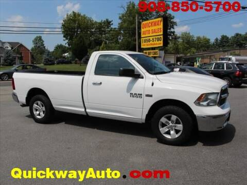 2017 RAM Ram Pickup 1500 for sale at Quickway Auto Sales in Hackettstown NJ
