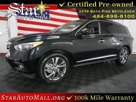2014 Infiniti QX60 for sale at STAR AUTO MALL 512 in Bethlehem PA