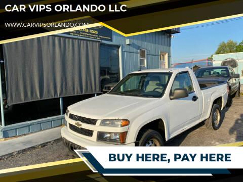 2012 Chevrolet Colorado for sale at CAR VIPS ORLANDO LLC in Orlando FL