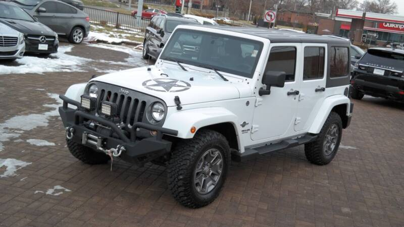 2014 Jeep Wrangler Unlimited for sale at Cars-KC LLC in Overland Park KS