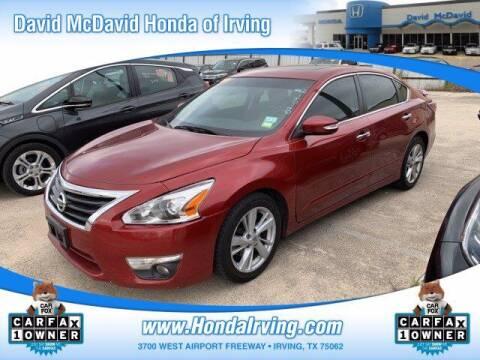 2014 Nissan Altima for sale at DAVID McDAVID HONDA OF IRVING in Irving TX