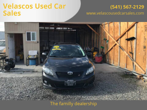 2010 Toyota Corolla for sale at Velascos Used Car Sales in Hermiston OR