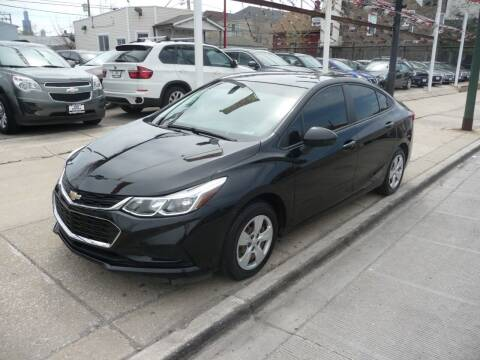 2016 Chevrolet Cruze for sale at CAR CENTER INC in Chicago IL