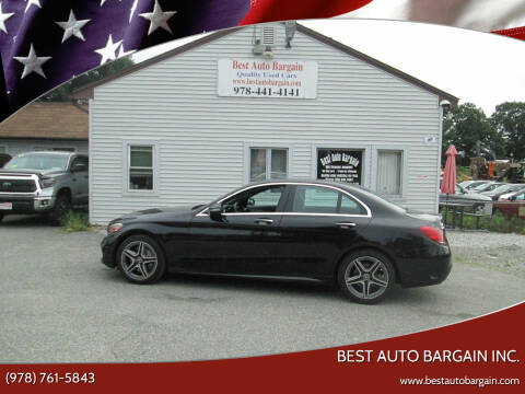 2020 Mercedes-Benz C-Class for sale at BEST AUTO BARGAIN inc. in Lowell MA