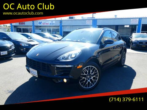 2016 Porsche Macan for sale at OC Auto Club in Midway City CA
