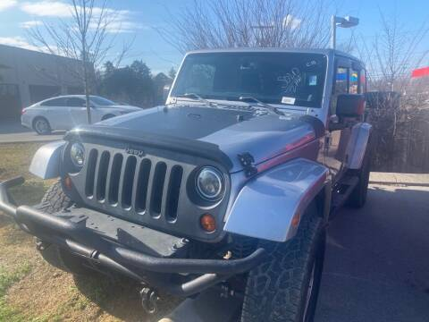 2013 Jeep Wrangler Unlimited for sale at Z Motors in Chattanooga TN
