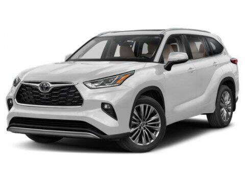 2022 Toyota Highlander for sale at BEAMAN TOYOTA in Nashville TN