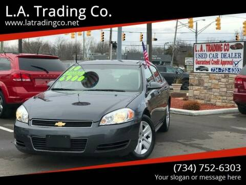 2010 Chevrolet Impala for sale at L.A. Trading Co. in Woodhaven MI