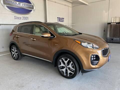 2018 Kia Sportage for sale at TANQUE VERDE MOTORS in Tucson AZ