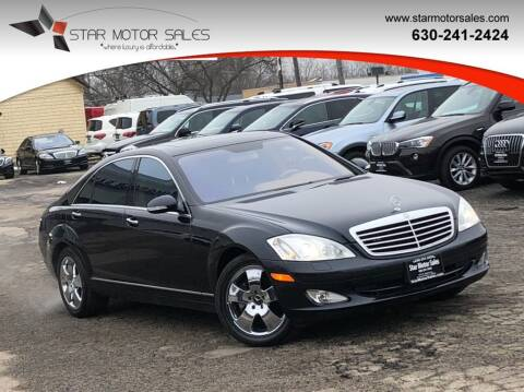 2009 Mercedes-Benz S-Class for sale at Star Motor Sales in Downers Grove IL