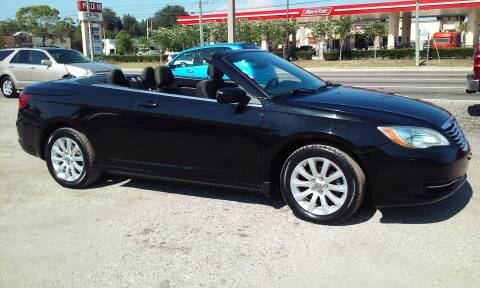 2011 Chrysler 200 Convertible for sale at Pinellas Auto Brokers in Saint Petersburg FL