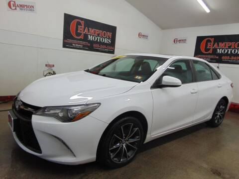 2016 Toyota Camry for sale at Champion Motors in Amherst NH