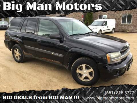 2004 Chevrolet TrailBlazer for sale at Big Man Motors in Farmington MN