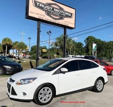 2012 Ford Focus for sale at Trust Motors in Jacksonville FL