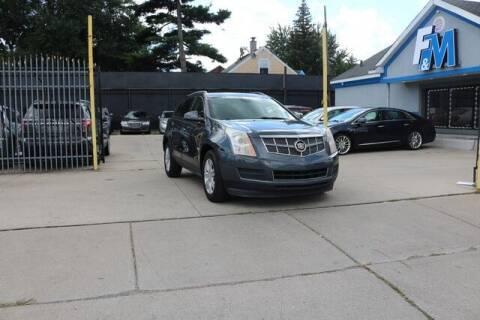 2011 Cadillac SRX for sale at F & M AUTO SALES in Detroit MI