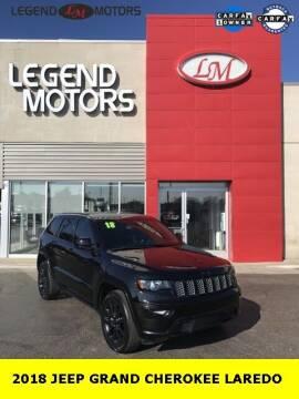 2018 Jeep Grand Cherokee for sale at Legend Motors of Ferndale in Ferndale MI