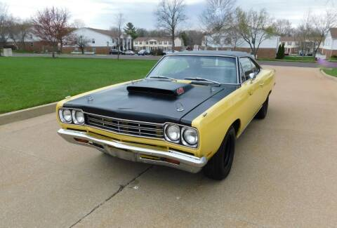 1969 Plymouth Roadrunner for sale at WEST PORT AUTO CENTER INC in Fenton MO
